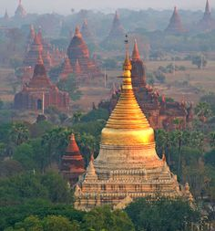Burma , a place that looks mysterious and full of adventures