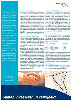 Flyer voor ondernemers: samen investeren in veiligheid