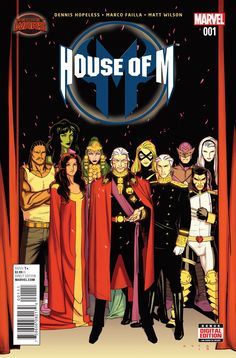 Preview: House of M #1,   House of M #1 Story: Dennis Hopeless Art: Marco Failla…