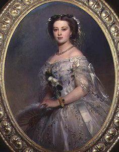 Victoria, Princess Royal, by Franz Xaver Winterhalter, 1857.