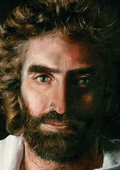 by Akiane Kramarik. When she was 8 she painted this.  She saw Jesus at 4 years old and started these paintings :)  Amazing