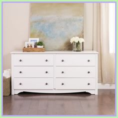 This Double Dresser will make a great addition to your bedroom. This 6 Drawer Dresser is the perfect decor furniture. Chest of Drawers require easy and fast assembly. Chest of Drawers Features What's Included: Chest of Drawers. White Drawers Bedroom, White 6 Drawer Dresser, Dresser Bed, Bedroom Chest, White Bedroom Furniture, Bedroom Dressers, Dresser Drawers, Double Dresser, Sofa Furniture