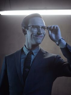 Cory Michael Smith as Edward Nygma in #Gotham - Season 2