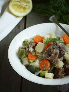 Beef Fricassée with Root Vegetables