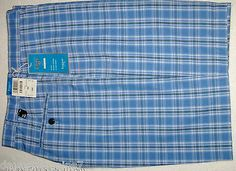 HAGGAR PERFORMANCE MEN`S SHORTS LITE BLUE 38 WAIST W/ FLEX WAIST MOISTER WICKING http://stores.ebay.com/davesbargains7