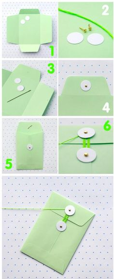 #DIY envelopes
