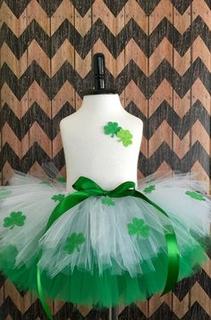 Reserved for Megan St. Patricks Day tutu and by mimislullaby