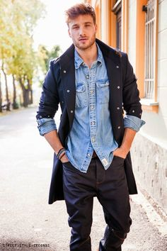 1000 Images About Fresh Spring Fashion For Men On Pinterest 2015 Fashion Trends Blue Jean