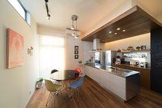カフェの様なチョコレート色の家・間取り(大阪府枚方市) |ローコスト・低価格住宅|狭小住宅・コンパクトハウス | 注文住宅なら建築設計事務所 フリーダムアーキテクツデザイン