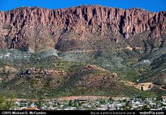 Apache Leap Cliff Picture 006 - February 17, 2015 from Superior, Arizona Picture