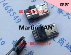 This item is now available in our shop. free shipping 50pcs Male USB Micro Socket Connector Plug DIY + Housing Type Micro USB 5P - US $6.07 http://tvshopping3.org/products/free-shipping-50pcs-male-usb-micro-socket-connector-plug-diy-housing-type-micro-usb-5p/