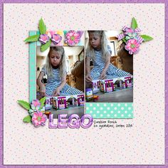 Digital layout using Believe In Magic - Magical Birthday: Girl by Amber Shaw and Studio Flergs at Sweet Shoppe Designs