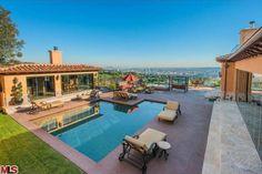 Actor Eriq La Salle's Beverly Hills mansion.