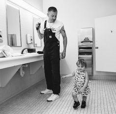 Macklemore's Green Room Girl - http://site.celebritybabyscoop.com/cbs/2016/06/28/macklemores-green-girl #Backstage, #BenHaggerty, #Macklemore, #SloaneHaggerty