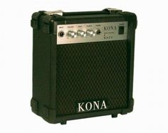Kona 10 Watt Electric Guitar Amp - Bid or Buy Now for $42.99. Electric Guitar And Amp, Guitar Amp, Marshall Speaker, Security Camera, Cameras, Instruments, Search, Music, Musica