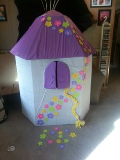 Rapunzel tower for Madison & Rapunzel Tower for pictures! So much fun and added so much to the ...