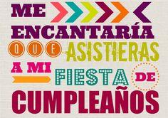 Invitación fiesta de cumpleaños imprimible gratis