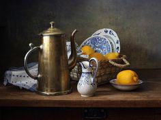 photo: ~С кофейником и лимонами~ | photographer: Елена Татульян | WWW.PHOTODOM.COM