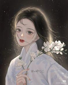 China Art, Beautiful Anime Girl, Comics Girls, Cute Anime Guys, Anime Art Girl, Aesthetic Anime, Moonlight, Fantasy Art, Digital Art