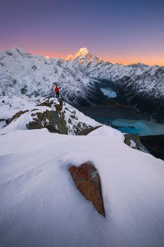 Face To Face by Dylan Gehlken. Mt Cook National Park, New Zealand. New Zealand Winter, Beautiful World, Beautiful Places, New Zealand Adventure, Escalade, Photographs Of People, Parcs, Landscape Photographers, Beautiful Landscapes