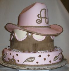 Cowgirl Bday Cake!
