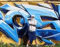 Graffiti art by Dmitry Rasko, via Behance