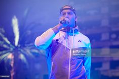 RAF Camora performs at Velodrom on April 14, 2017 in Berlin, Germany.