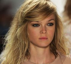 Although it always takes too long until spring comes, beautiful hairstyle trends of spring 2012 is always helpful with its upcoming designs. A lot of new fascinating updos are shown, besides lively long hairdos. They will inspire us to replicate it a