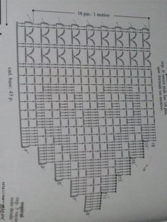 ideas for crochet lace heart granny squares Filet Crochet, Crochet Cross, Crochet Home, Thread Crochet, Diy Crochet, Motif Bikini Crochet, Crochet Lace Edging, Crochet Diagram, Crochet Chart