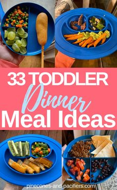 I'm sharing 33 easy and healthy dinner ideas for your young toddler. Toddler dinner ideas based on what my 1 year old eats. and Drink ideas 33 Easy Toddler Dinner Ideas Toddler Lunches, Healthy Toddler Meals, Toddler Food, Healthy Toddler Breakfast, Toddler Nutrition, Dinner For One, Dinners For Kids, Kids Meals, Toddler Dinners
