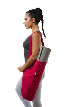 The YogiiiTote was designed to simplify the life of all yogi's. A new universal tote bag that comfortably fits all size yoga mats and yoga equipment. New Yoga Mat Bag