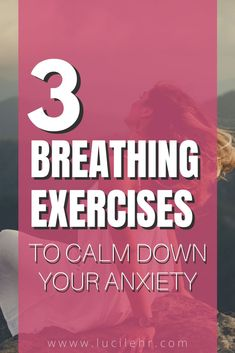 Breathing is an effective tool for stress management. Can't sleep? Try breathing exercises. Going into panic mode? Breathe and relieve your anxiety. Are you suffering from an anxiety attack and you want to do something about it naturally? Learn breathing techniques to address your stress and anxiety. Click on to read about 3 of the most effective calming breathing exercises you can use to relieve stress. #holistic #healthyhabits #calm #breathingexercises #mindfulness #meditation #breathexercises