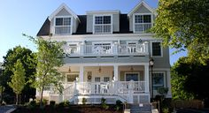 The Grand Hotel Kennebunk, ME..  Prepare to be pampered at this stylish Kennebunk hotel.