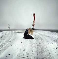 20 years old U.S.-based photographer Rachel Baran creates powerful surreal and conceptual self portraits ...