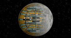 Αρχαίοι εξωγήινοι: Διαστημικός σταθμός - Σελήνη