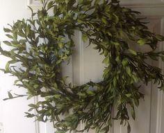 Faux Green Olive Leaf Wreath (No Berries) Wreaths For Door,http://www.amazon.com/dp/B00JHMBZ1K/ref=cm_sw_r_pi_dp_BTvztb0TD69R7AXV
