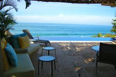 Song of the Sea - San Pancho, Mexico - Contemporary 3 bedroom villa - Exquisite ocean views from every room. For information and reservations click here: http://www.sanpanchorentals.com/3bedroom/song_of_the_sea.html