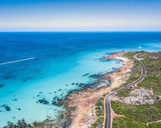 "Taken above Meelup in South West Australia. . The elegant curves of the road as it hugs the coastline is one of those things you can only really appreciate from the air. .  Check out this print and more on our website aboveunder.com.  Check us out on facebook ""aboveunder"" for exclusive deals. .  #aboveunder #welltravelled #beautifuldestinations #mytinyatlas #earthmissions #skypixel #drone #drones #hypebeast @theimaged #seeaustralia #hypelife #fromwhereidrone #passportexpress… Great Places, Beautiful Places, Places To Visit, Vacation Places, Dream Vacations, Western Australia, Australia Travel, Trip Planning, Around The Worlds"
