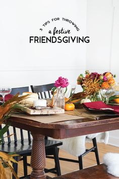 Throw down a festive and thoughtful Friendsgiving with our 3 key tips in partnership with @butterfinger ! Click for the full spread!