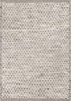 Asko Ljusgrå Handvävd matta | Linie Design
