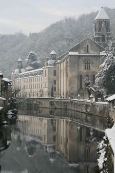 The beautiful small town of Brantôme in the Périgord blanc