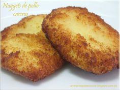 Receta Plato : Nuggets jugosos de pollo caseros por Aminomegustacocinar