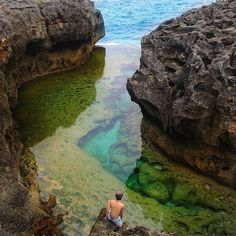 Angel's Billabong (Pasih Uug), Nusa Penida, Bali, Wanderlust, Bucket List, Island, Paradise, bali, Travel, Exotic, Places, Temple, Place to visit in Bali