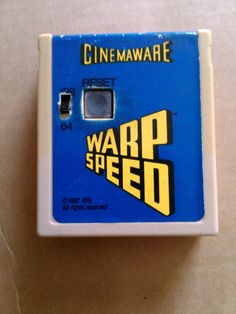 Cinemaware Warp Speed Cartridge for Commodore 64 and 128