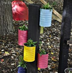 another great idea for empty cans