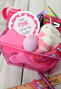A Peek at the Fun: Looking for something a little bit more creative and fun for your teacher gifts this year? Try this cute Tickled Pink That You're My Teacher gift-filled with all things pink and finished with a cute printable tag. Too often we find ourselves wandering the aisles of Target looking for fun...Read More »