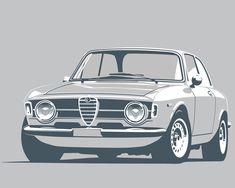 There really is no modern equivalent of 1960s European coupés. Their stance and proportions beautifully convey a machine which begs to be driven, but their line work maintains a sense of class and ele #alfaromeogta