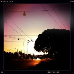 Darsena al tramonto - Via Roma
