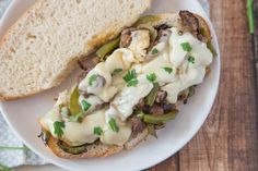 Philly Cheesesteak Sandwich Authentic))) Recipe - Food.com: Food.com Philly Cheese Steak Sandwich, Steak Sandwich Recipes, Roast Beef Sandwiches, Sandwich Shops, Ribeye Roast, Cheesesteak Recipe, Cheese Steaks, Provolone Cheese, South Philly