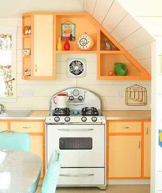 Retro kitchen ideas for guest house